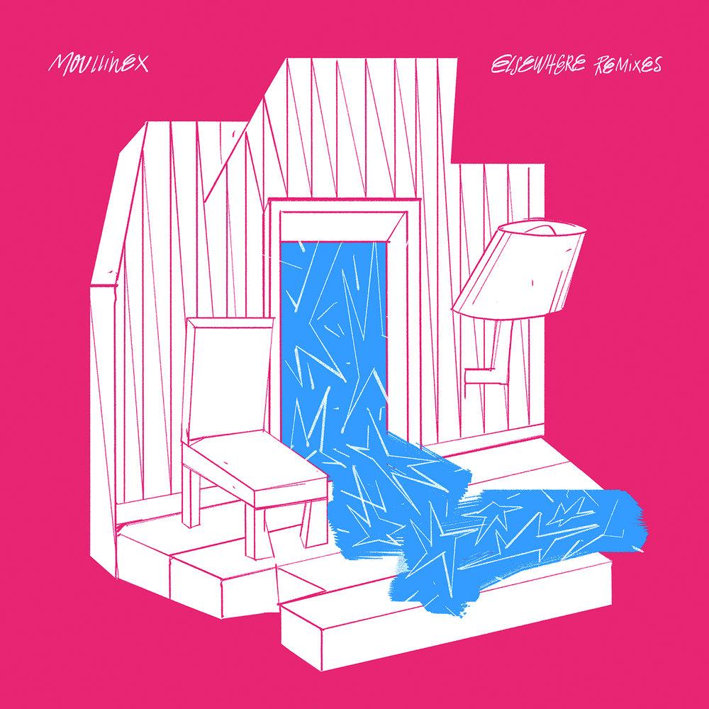 DT055: Moullinex - Elsewhere Remixes Pt. 1