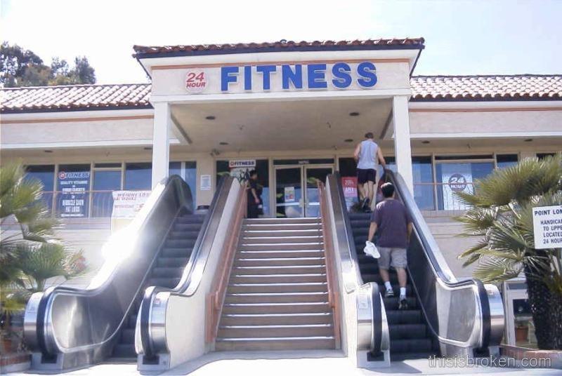 escalator fitness