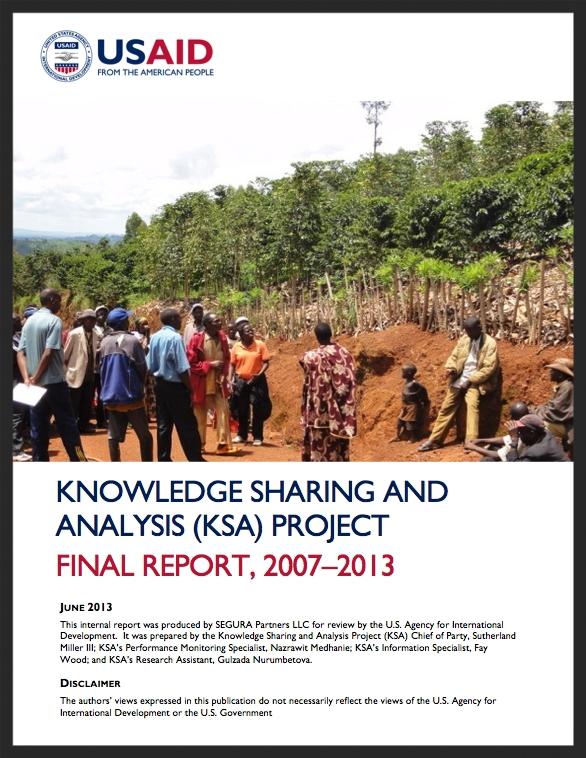 Final KSA Report: 2007-2013