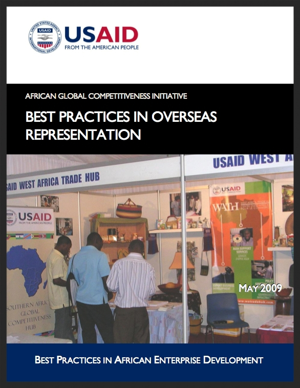 AGCI: Overseas Representation Best Practices