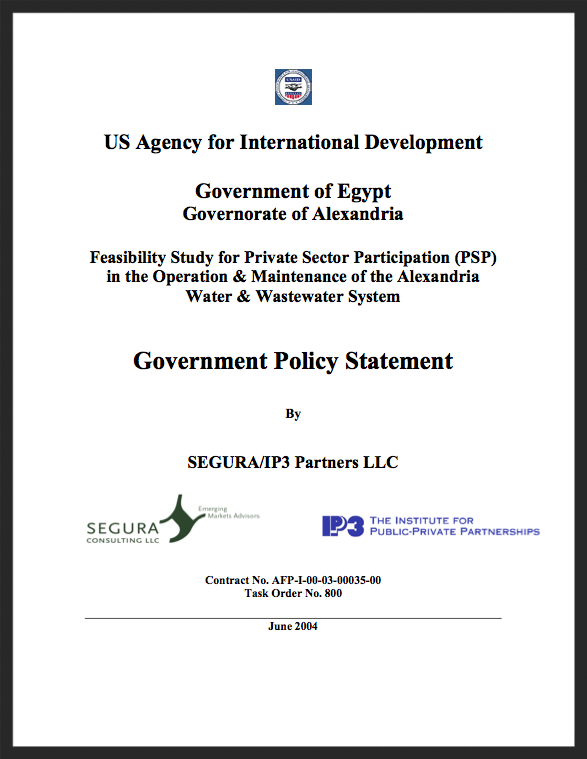 Alexandria Government Policy Statement