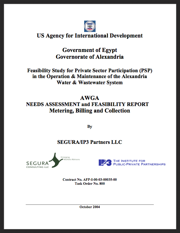 Alexandria | AWGA Needs Assessment and Feasibility