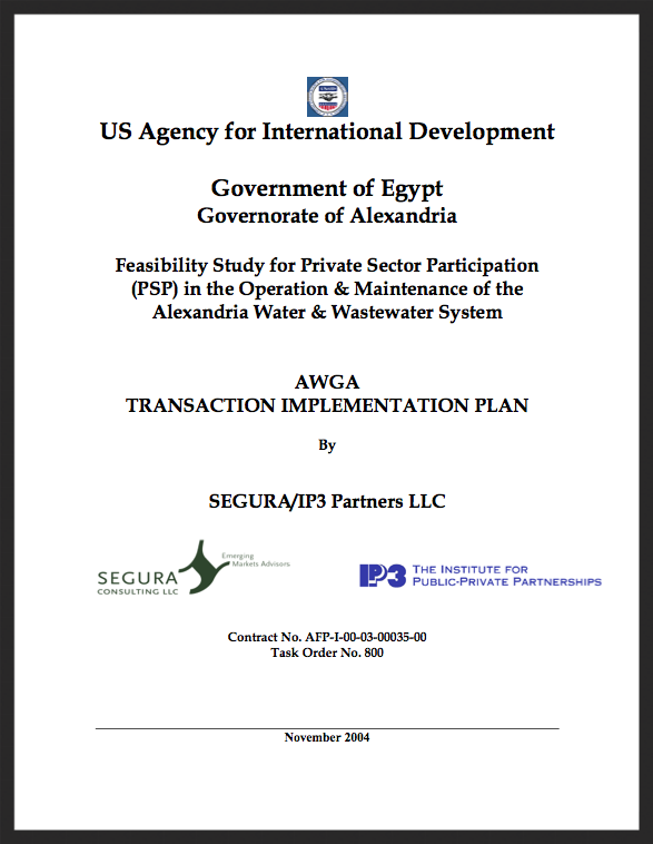 Alexandria- AWGA Transaction Implementation Plan