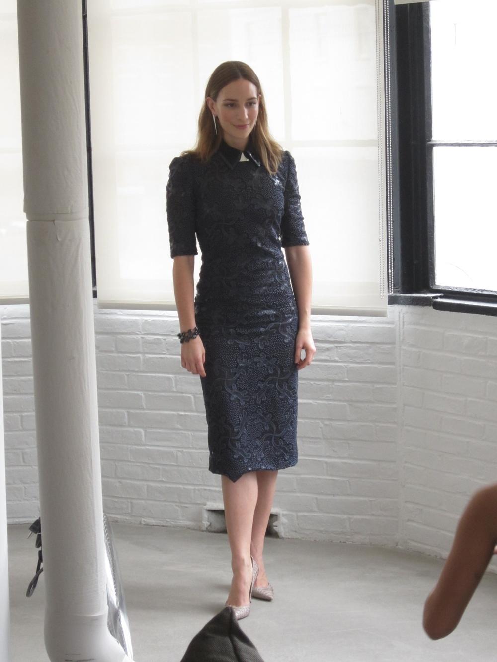 Backstage at Vogue