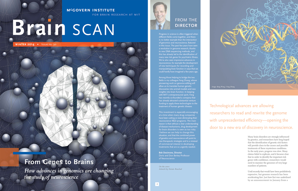 MIT's McGovern Institute just released their newsletter BrainSCAN and guess what! Pretty exciting. For fans of brains, read the whole issue  here .