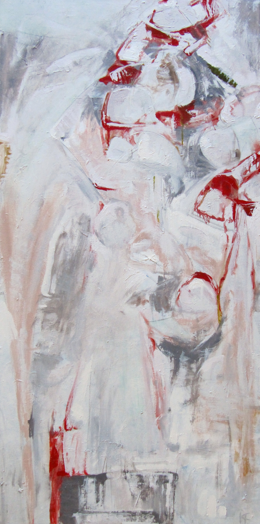 V, 2008 / Oil on canvas, 48 x 24 / SOLD