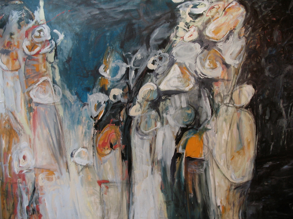 Stella, 2007  /  Oil on canvas, 45 x 66
