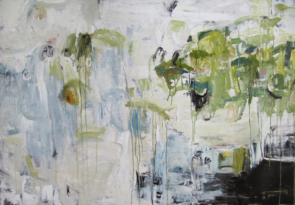 Dissolution, 2010  /  Oil on canvas, 36 x 51