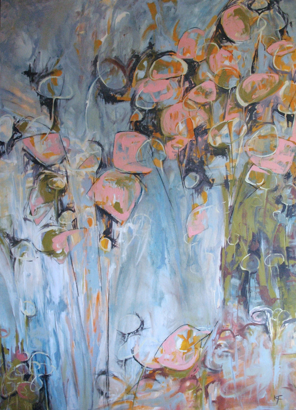 Thistle, 2007/  Oil on canvas, 47 x 65