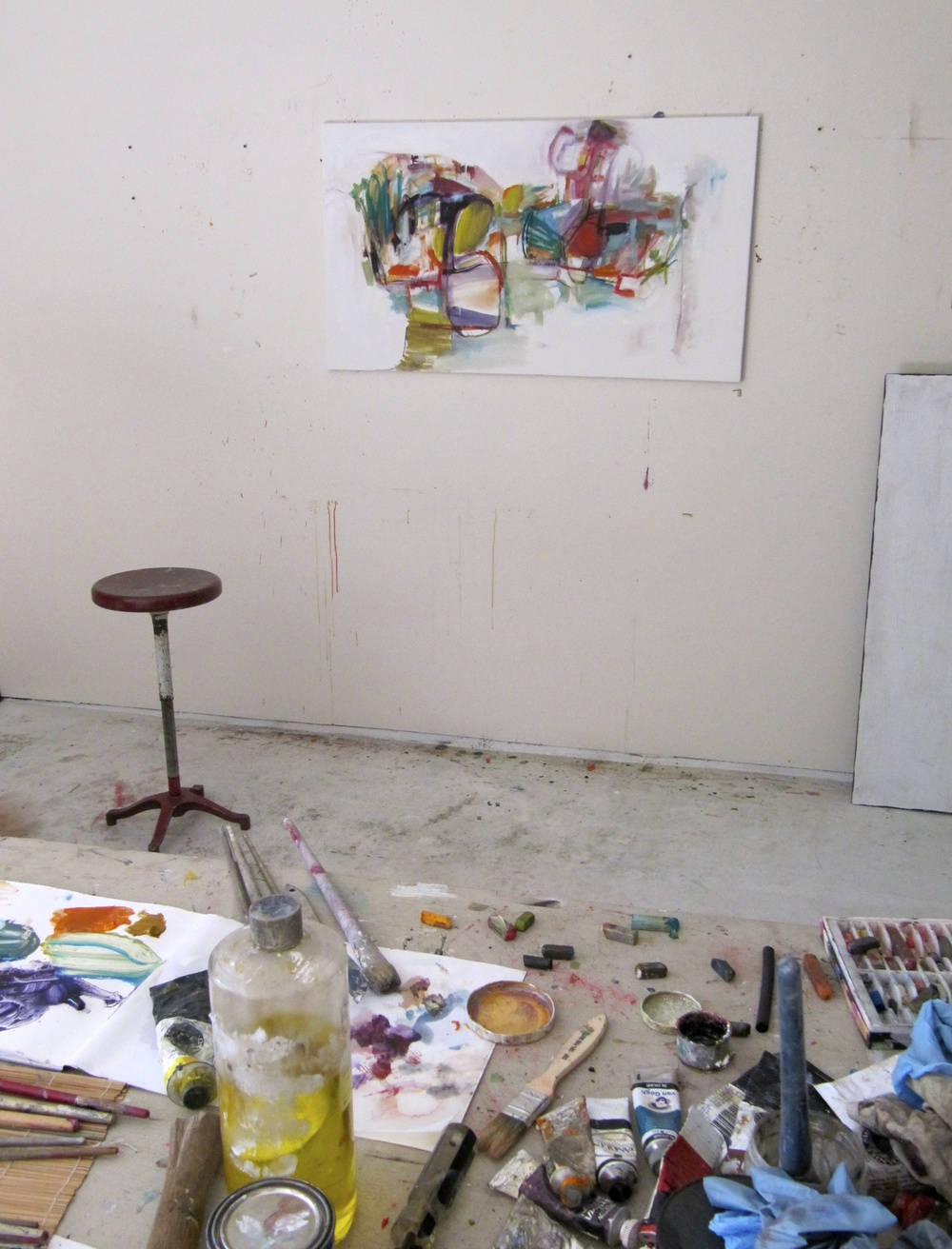 Studio, start of  In the Light of Day, usa .