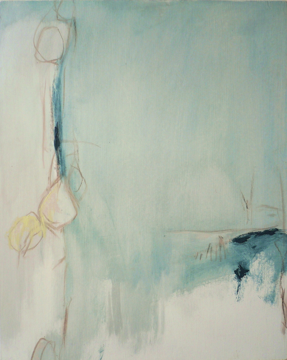 Cerulean series G, 2006  /  Oil on panel, 24 x 30