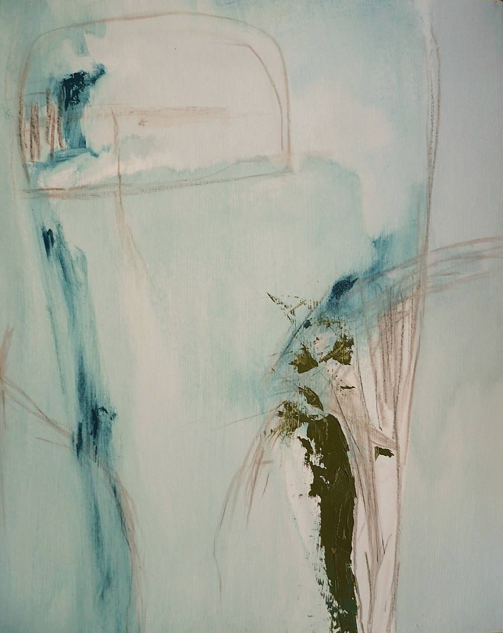 Cerulean series H, 2006  /  Oil on panel, 24 x 30