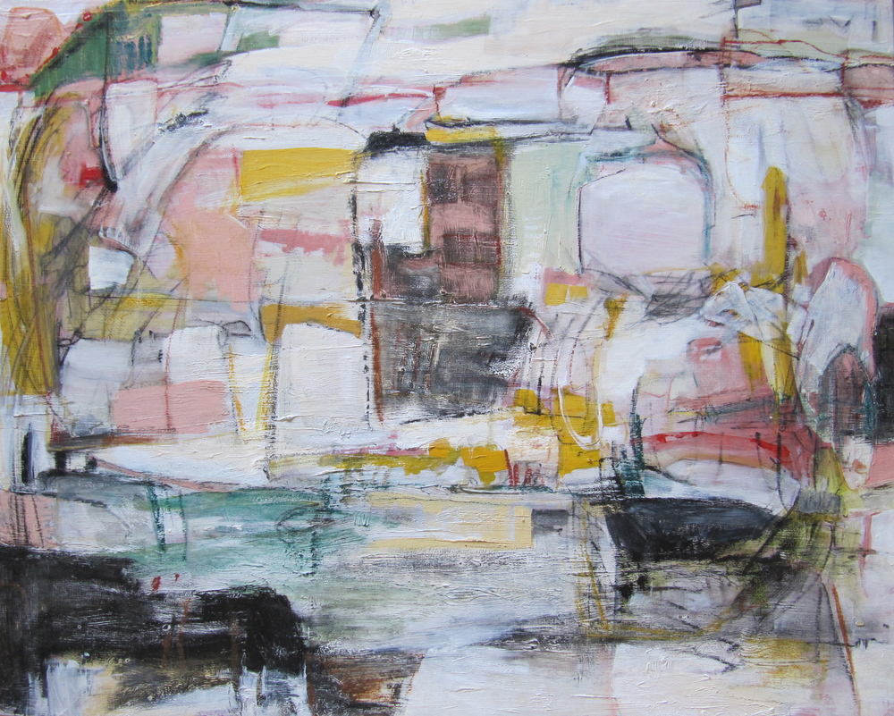 Paper Town, 2011 / Oil on panel, 24 x 30