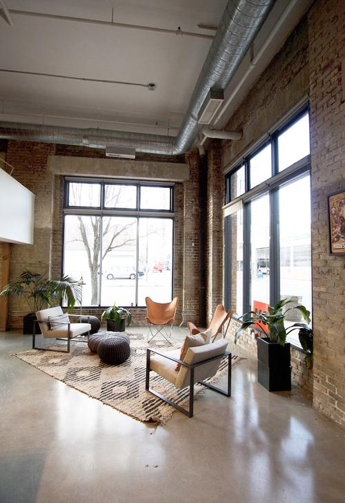 Modus office lounge vignette