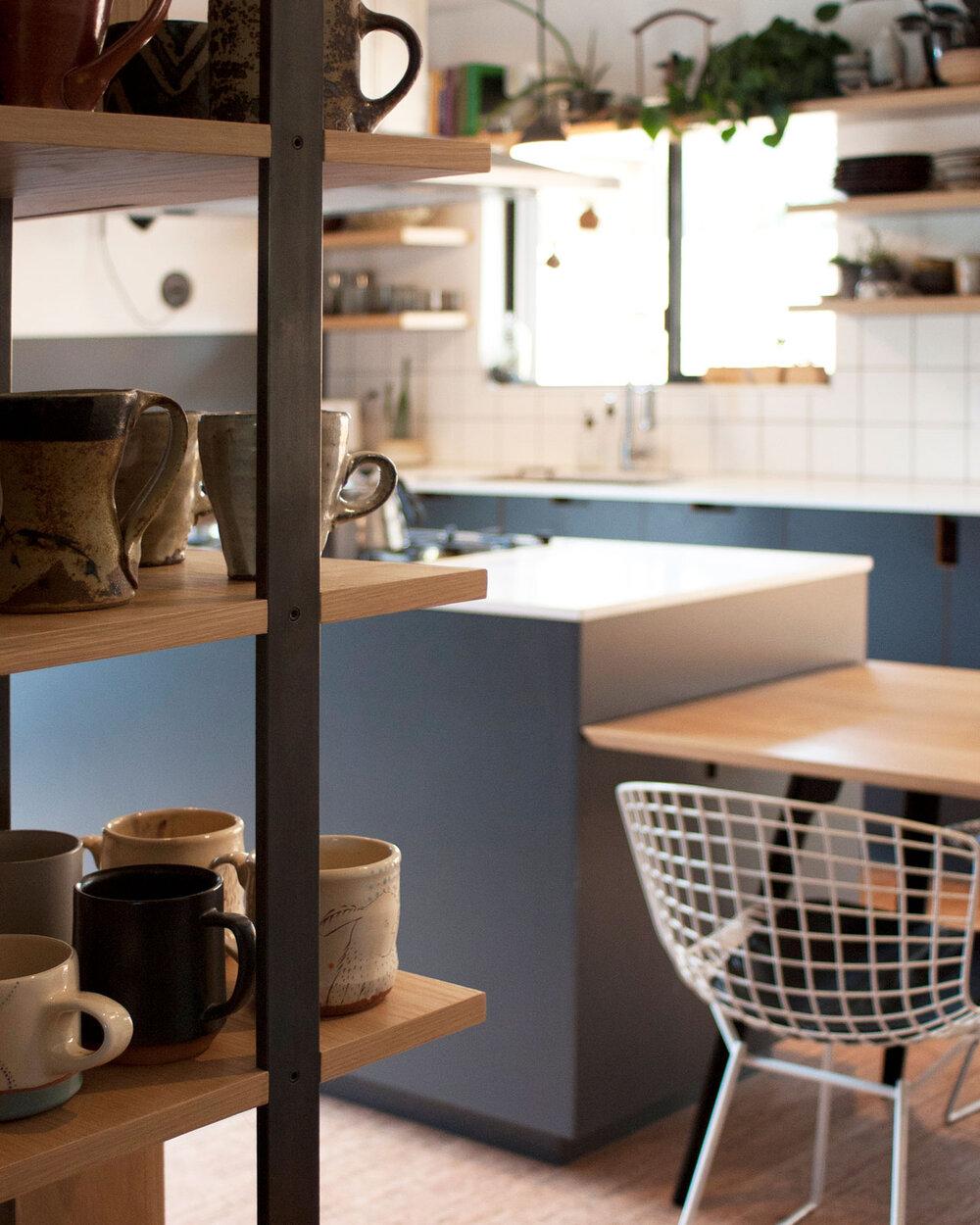 Warm, Boho Kitchen Design