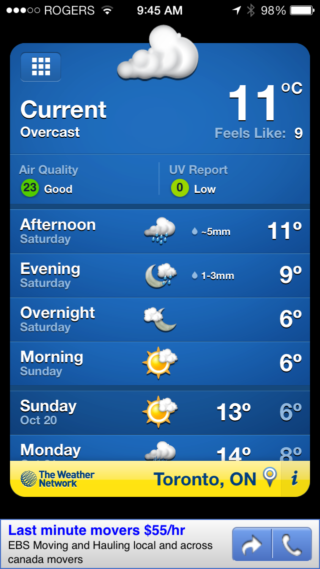 The Weather Network App