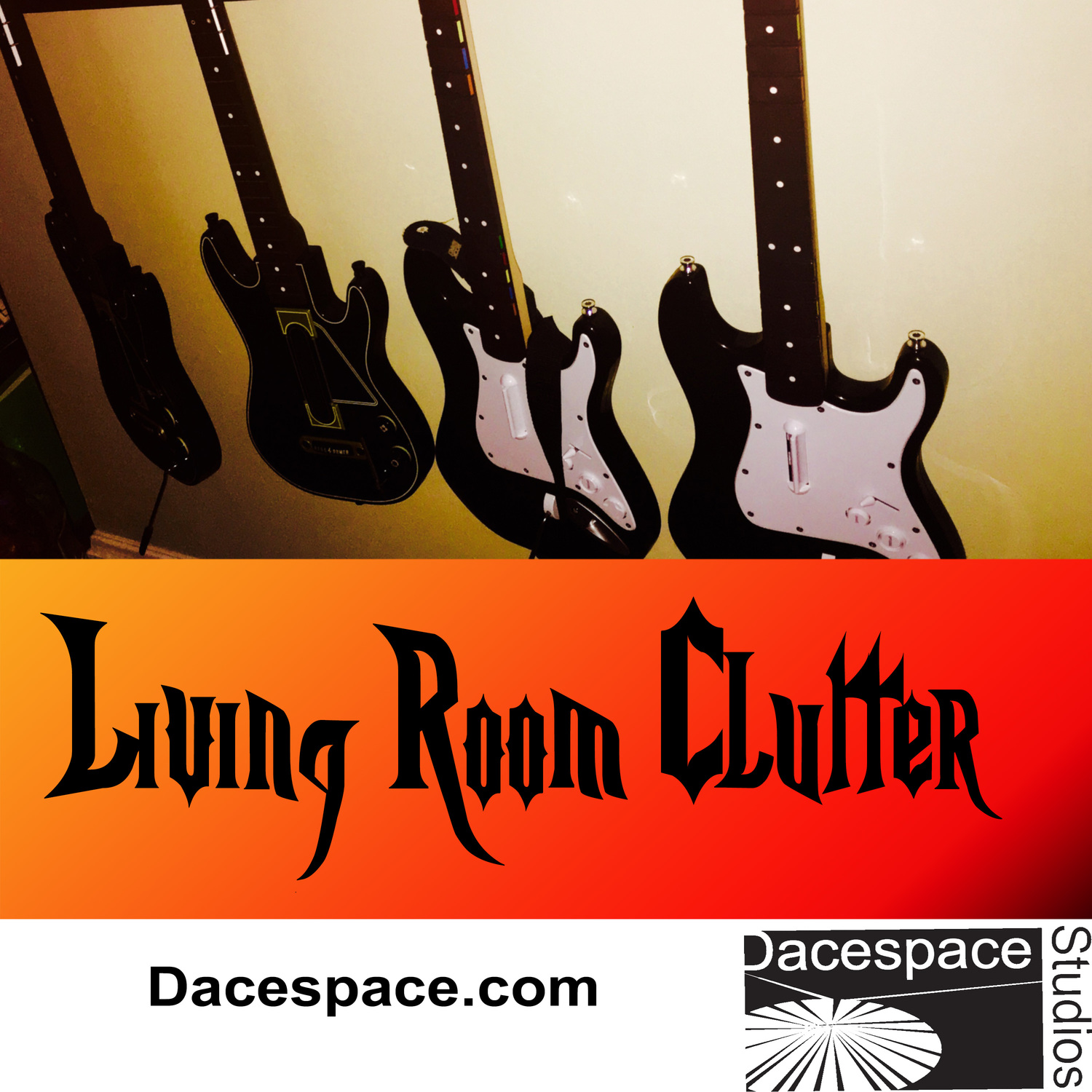 Living Room Clutter - Dacespace.com