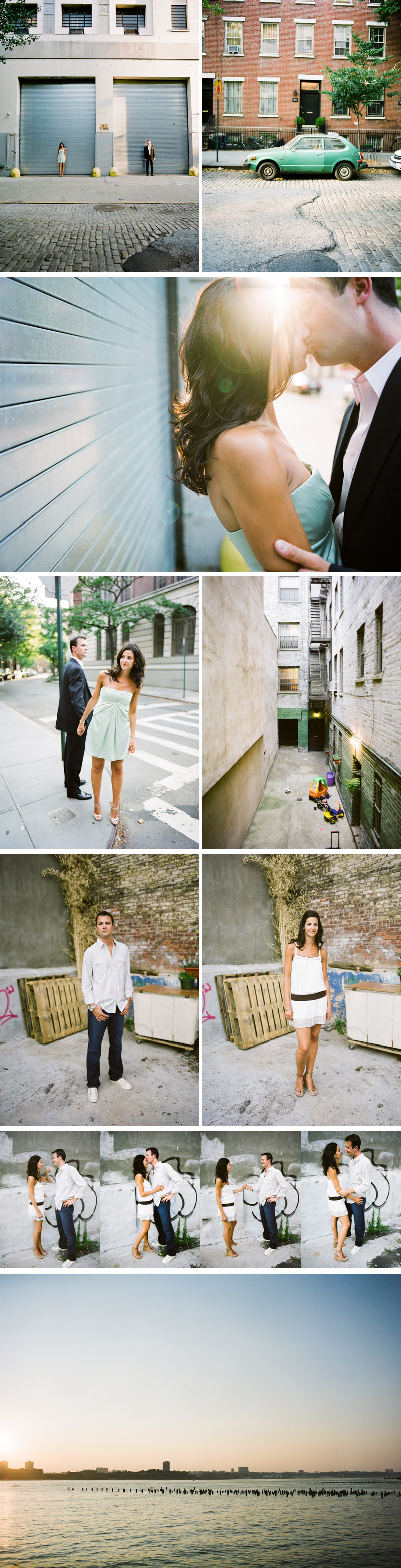 Allie + James engaged in New York City with images by Ash Imagery
