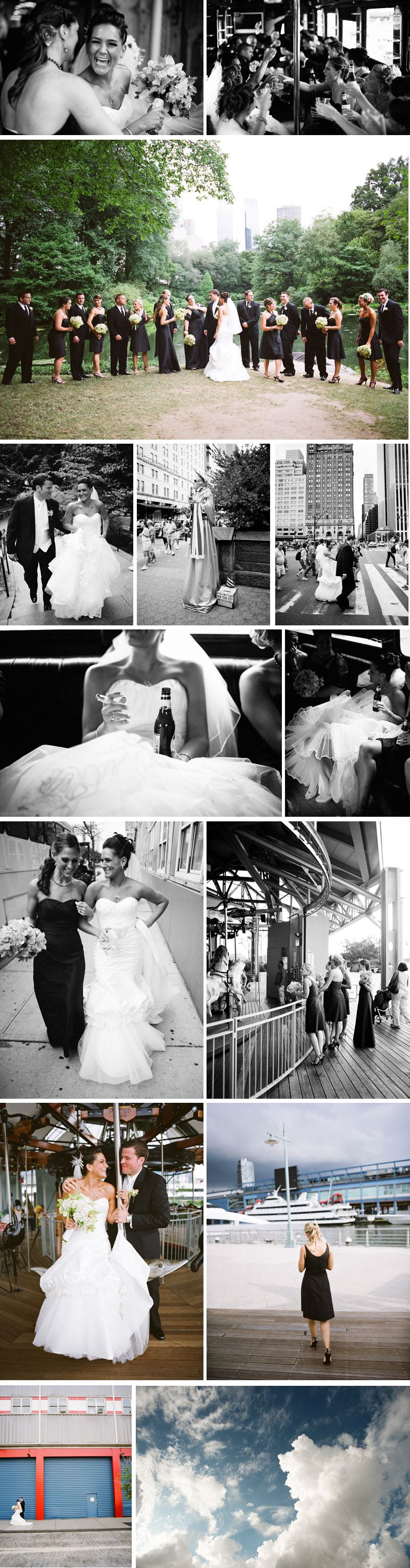 Jackie and Jeff New York City wedding at Pier 60 Chelsea Piers