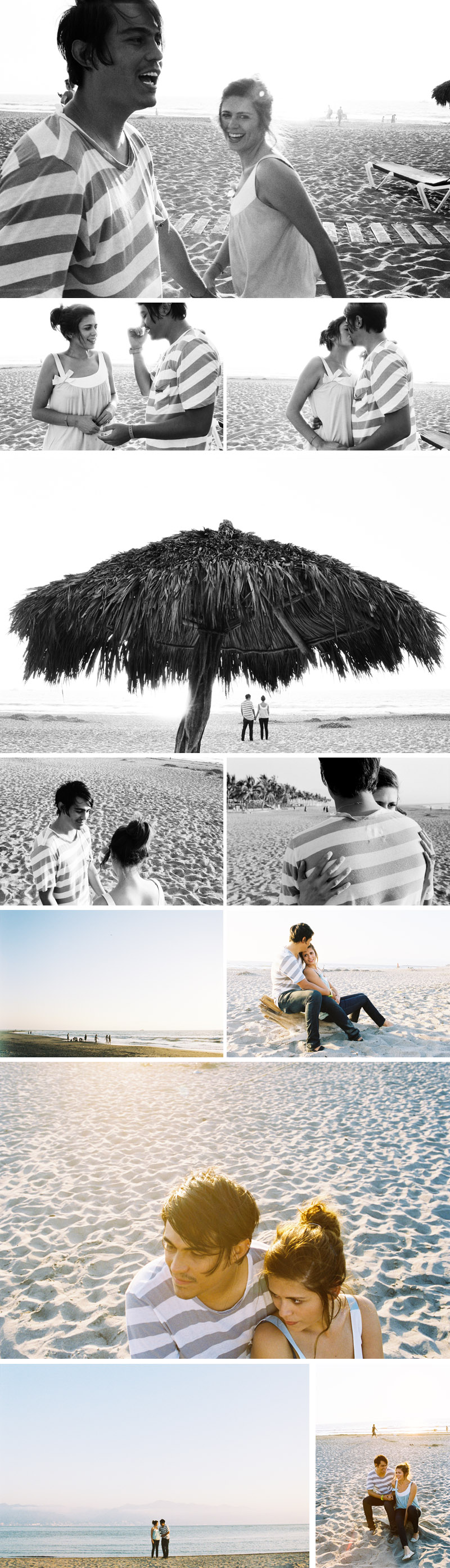 puerto vallarta engagement session by michael ash imagery