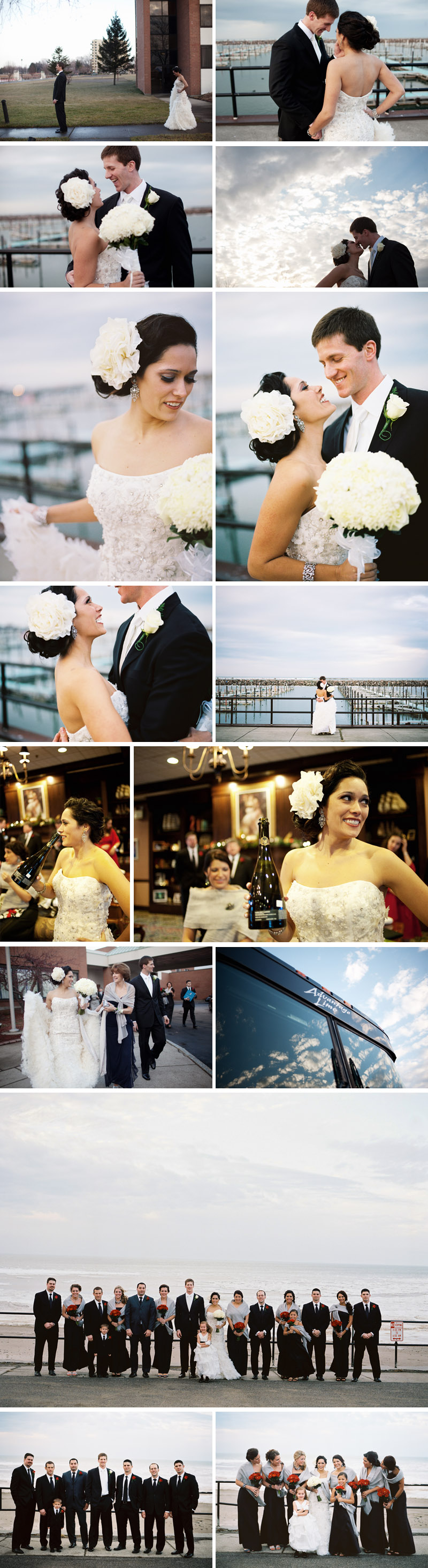 dunkirk new york wedding photographed by michael ash imagery