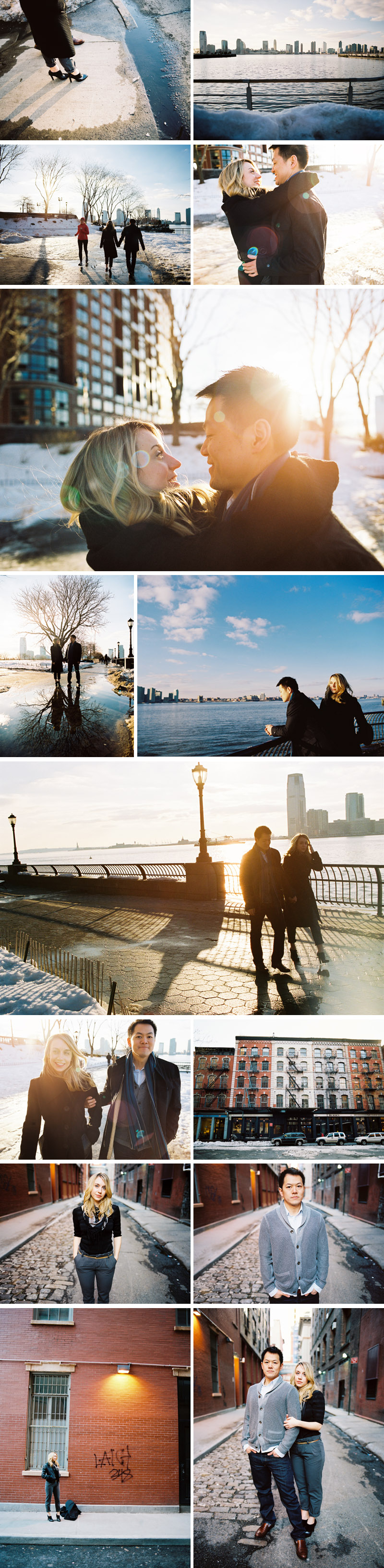 engagement session in new york city by michael ash imagery