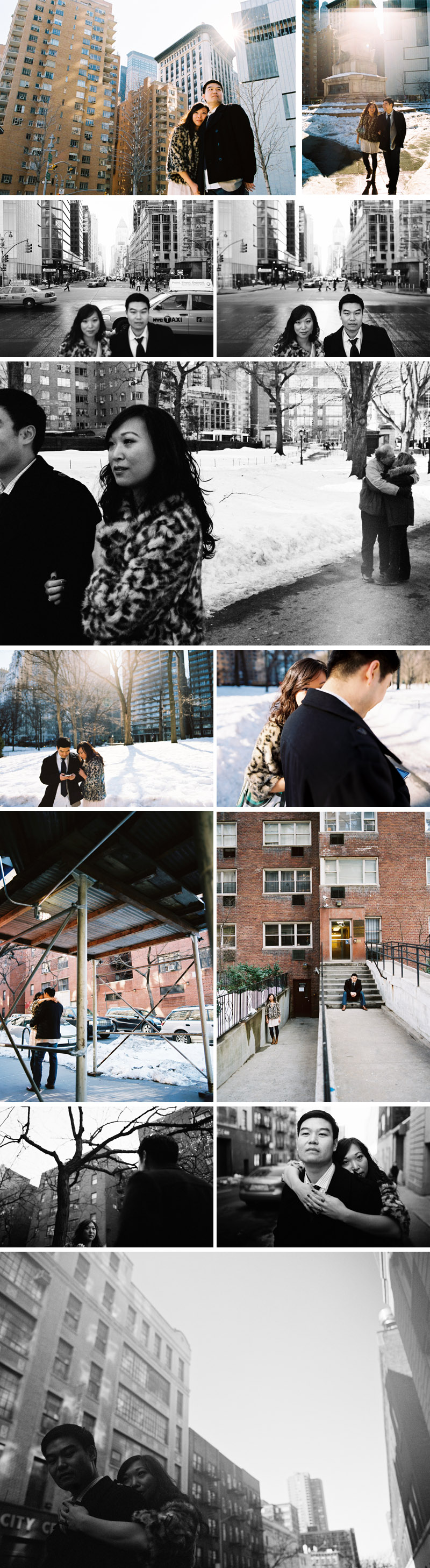 new york city engagement session by michael ash imagery