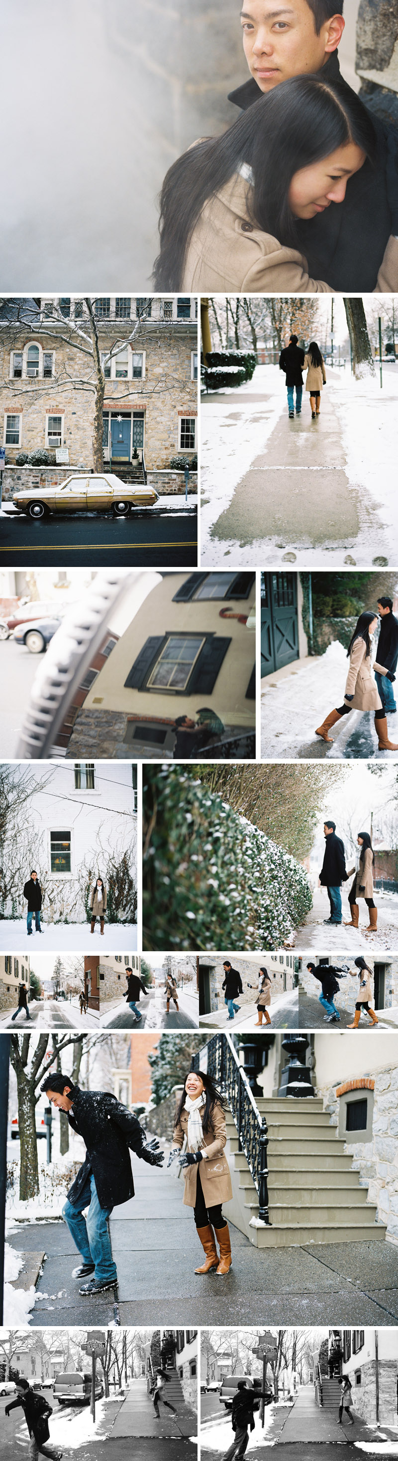 engagement session in historic downtown bethlehem by michael ash imagery