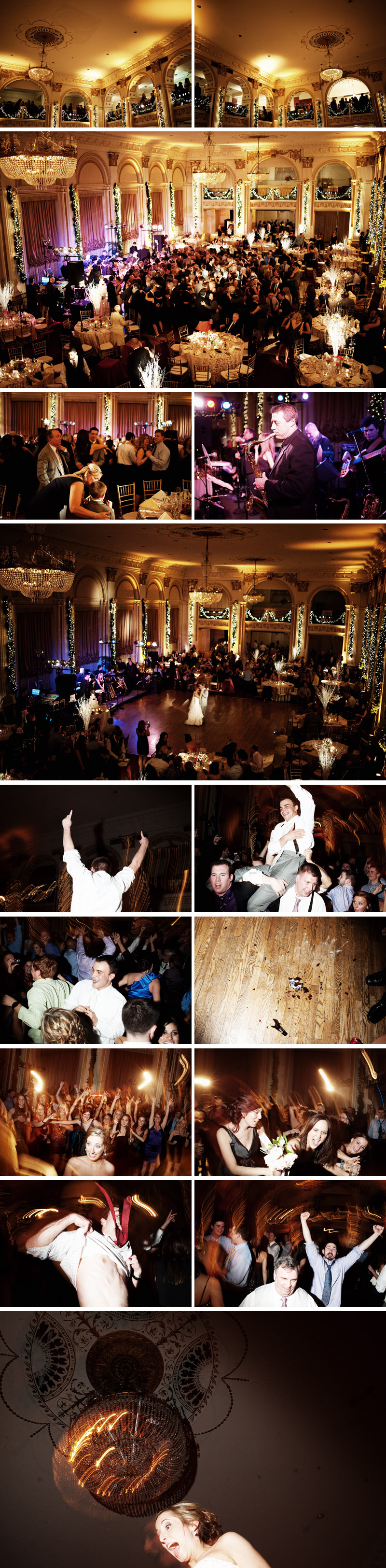 ballroom at the ben wedding in philadelphia photographed by michael ash imagery