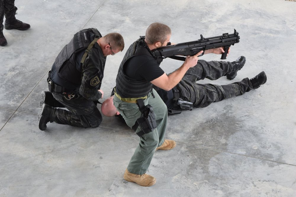 Down Officer Rescue in a Correctional Setting