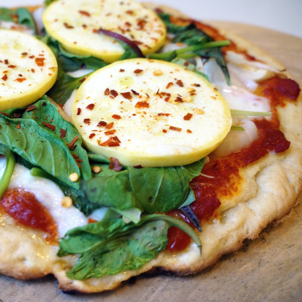 gluten free and guilt free pizza