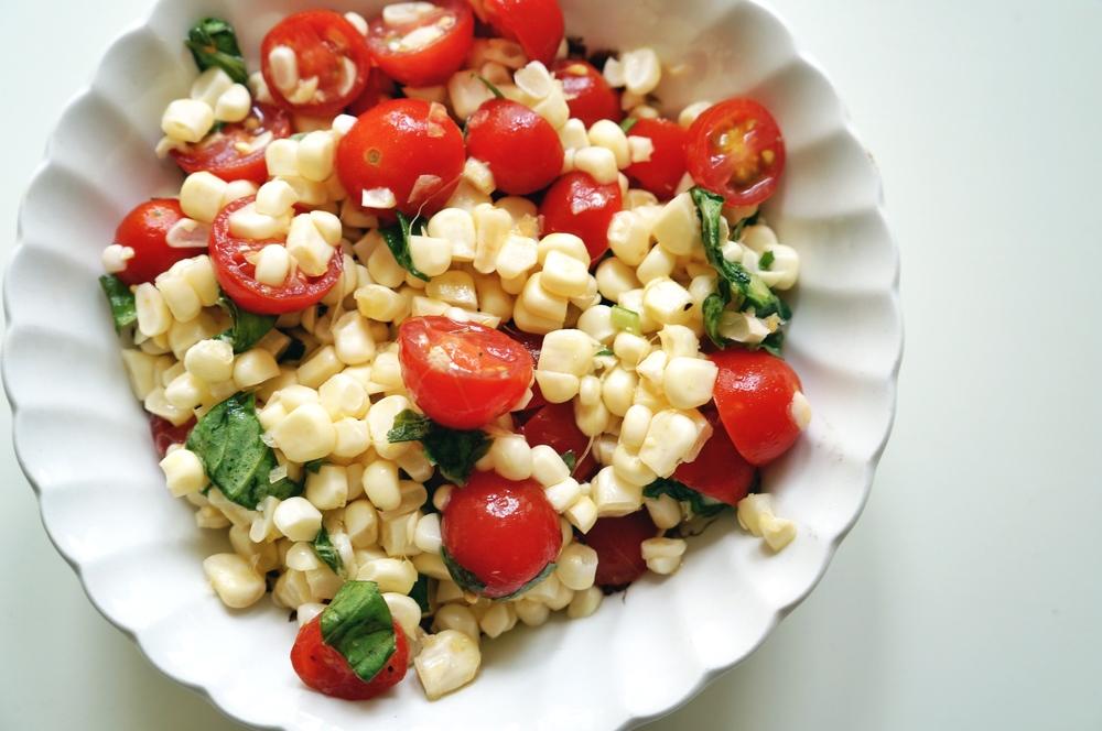 corn salad via sarahdigrazia.com