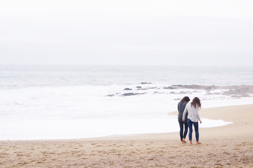 simple pleasure: beachcombing