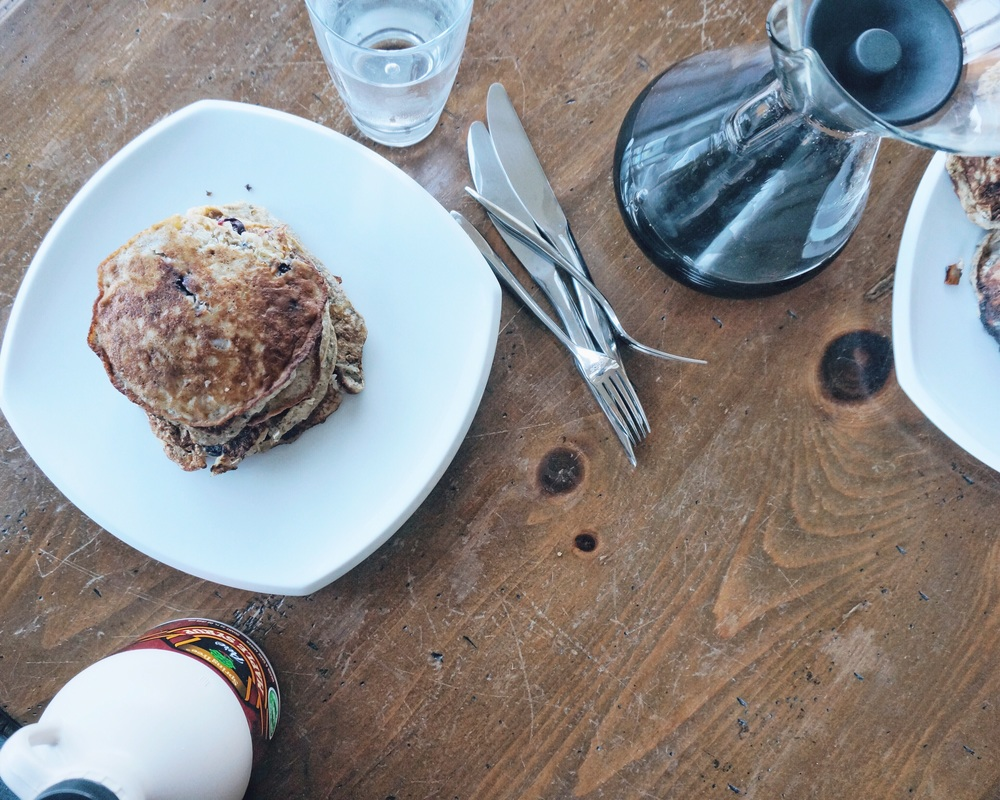 protein packed gluten free pancakes