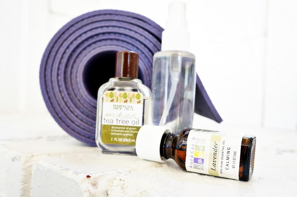 All natural yoga mat cleaner DIY
