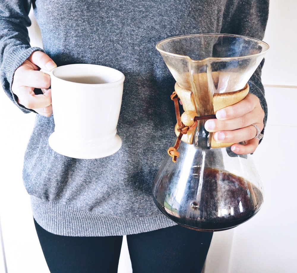 out favorite chemex coffee recipe