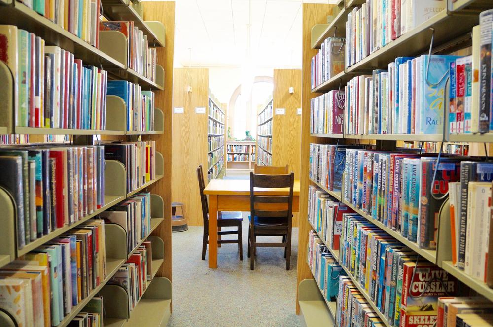 simple pleasure: the library