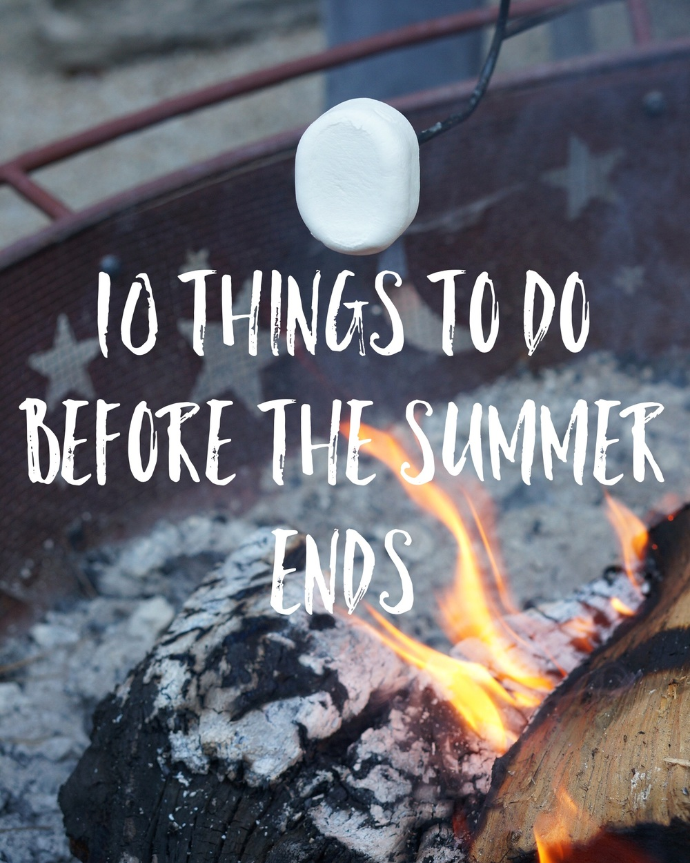 10 things to do before the summer ends