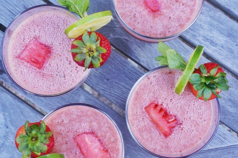 watermelon jalapeno summertime slush