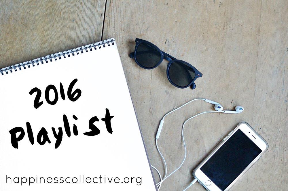 2016 playlist