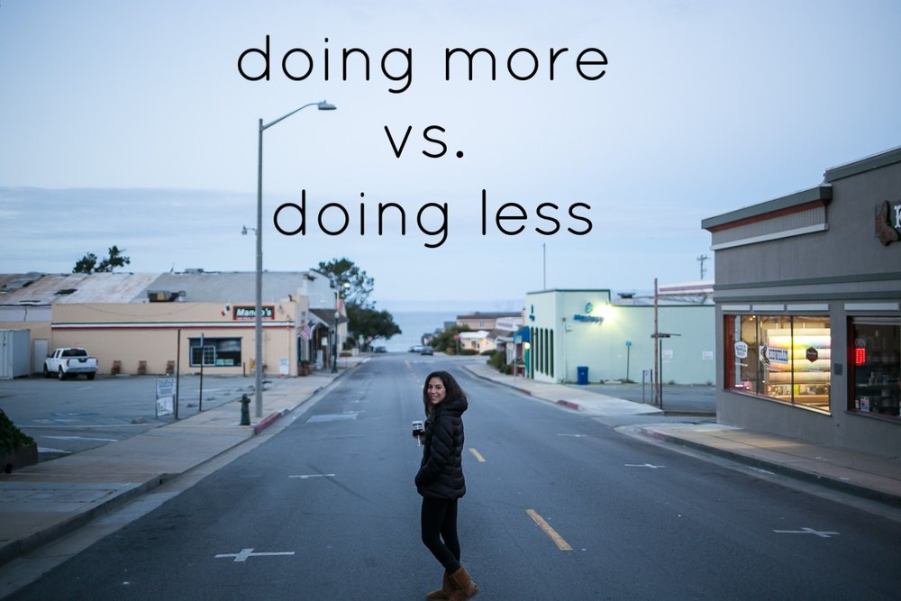 doing more vs. doing less happinesscollective.org
