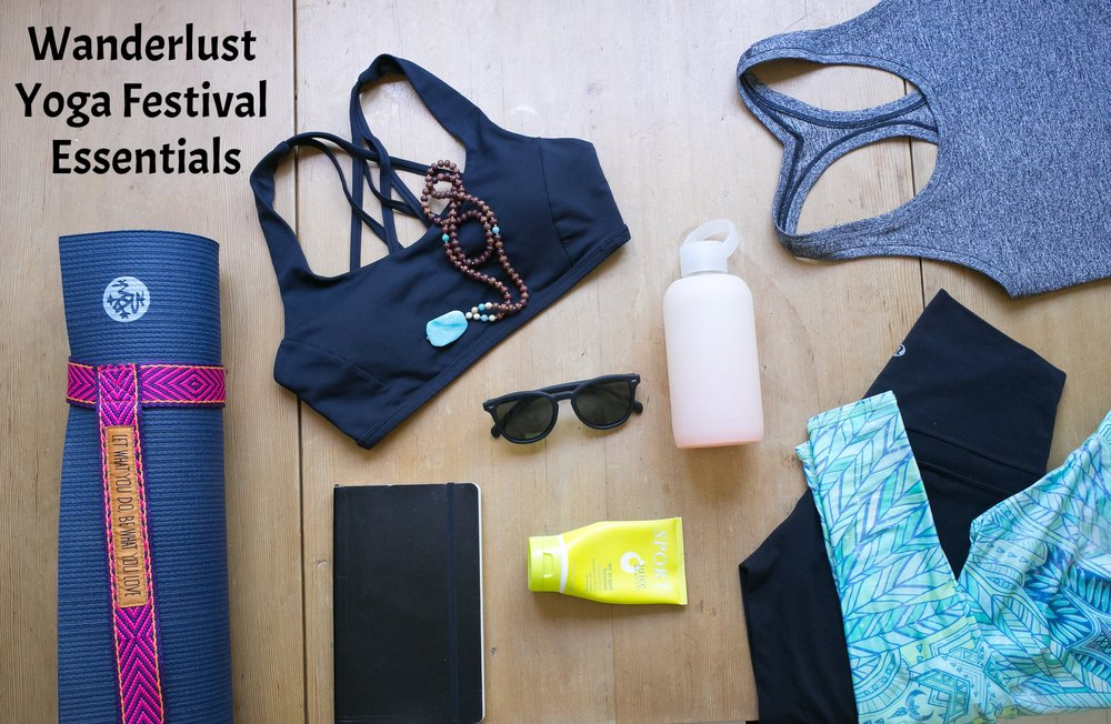 wanderlust Yoga Festival Essentials