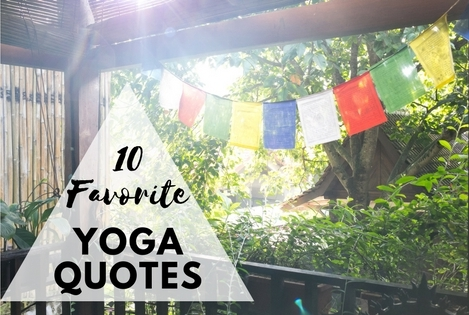 10 Favorite yoga quotes