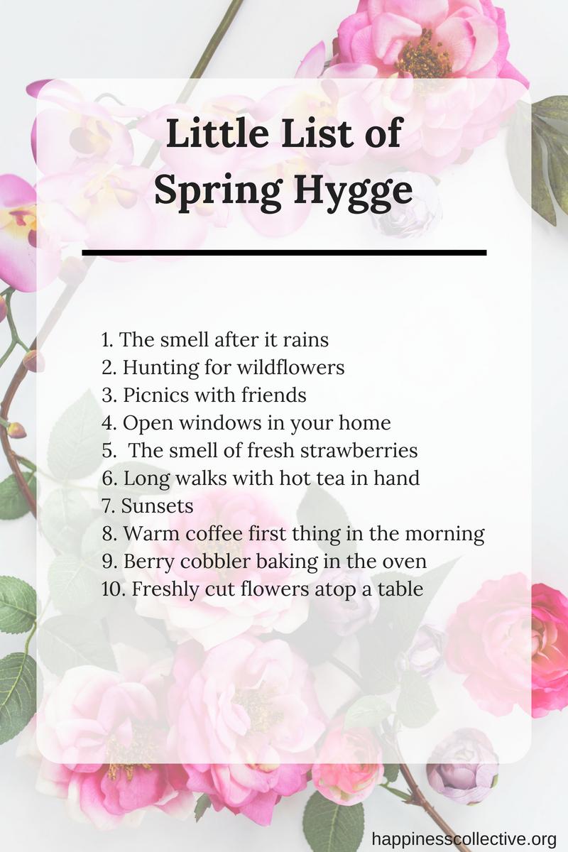 Spring Hygge
