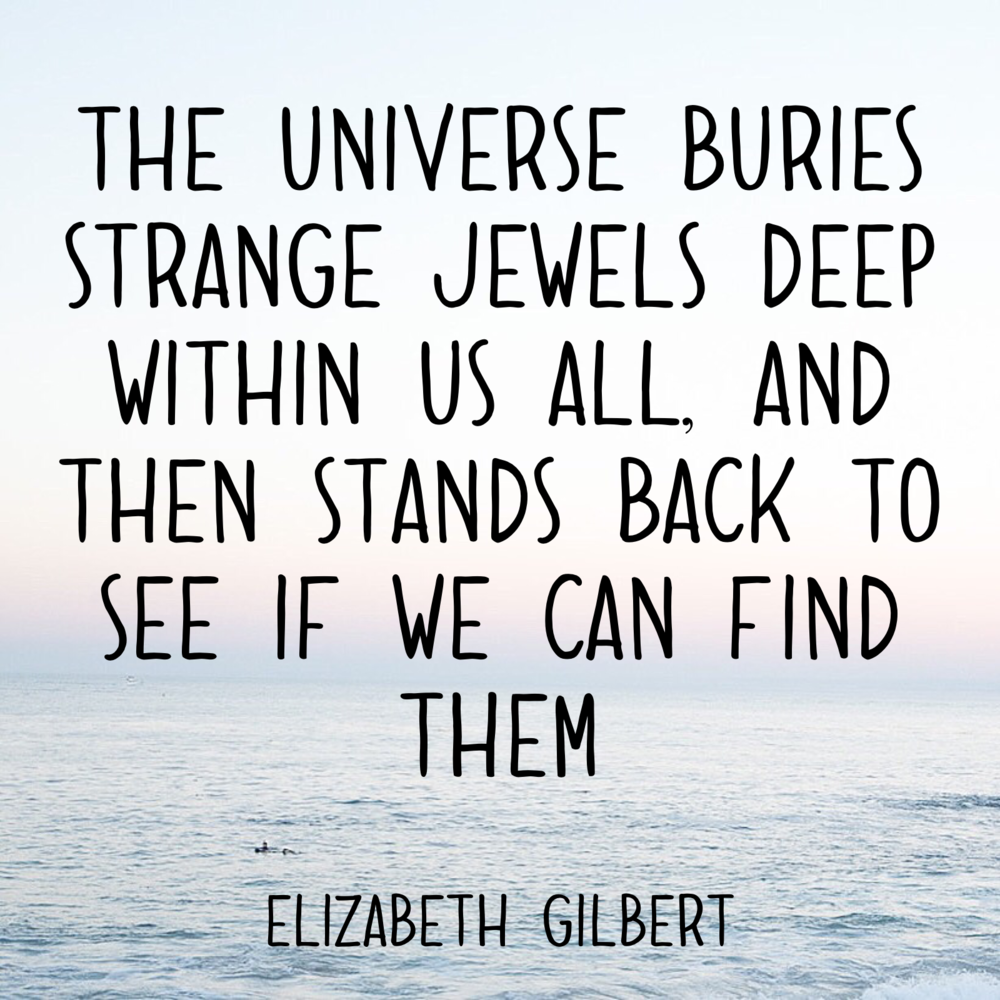 We all have jewels within us. - happinesscollective.org