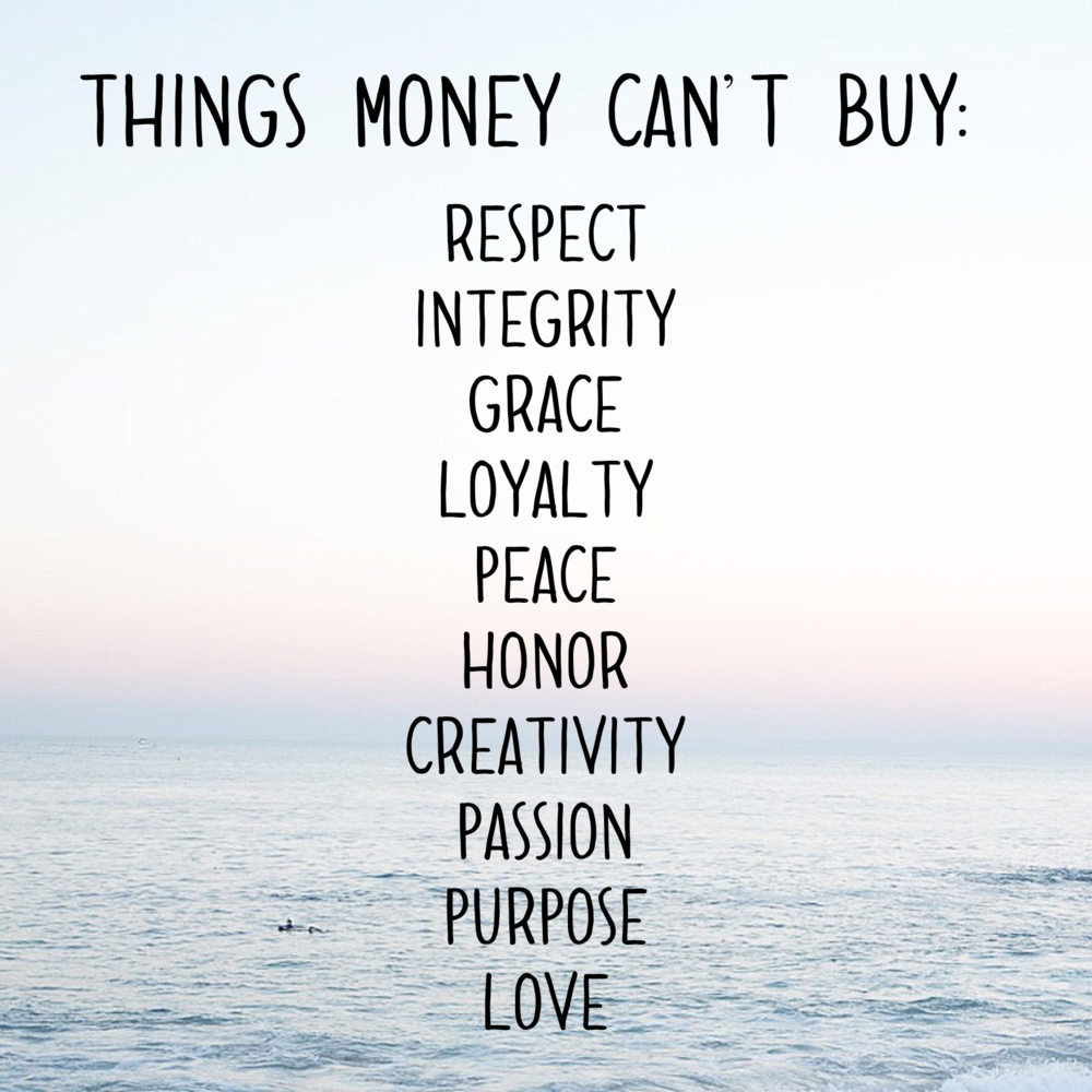 things money can't buy - happinesscollective.org