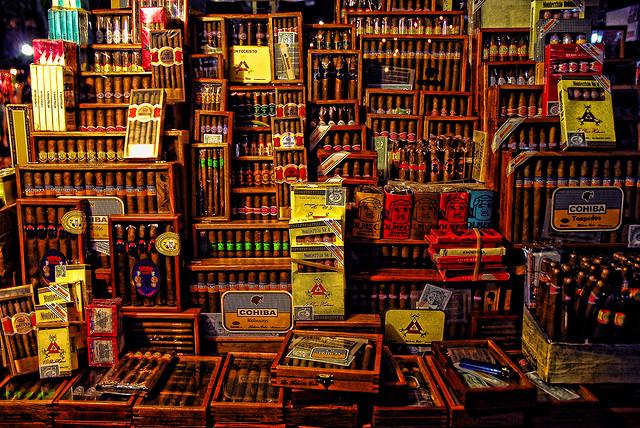 Puros Puros Cigar Shop - Veracruz, Mexico  Photo by Eduardo Pavon
