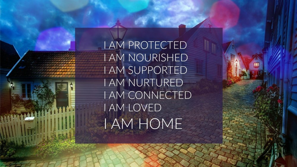 A 'HOME' Affirmation. www.circleofdaydreams.com