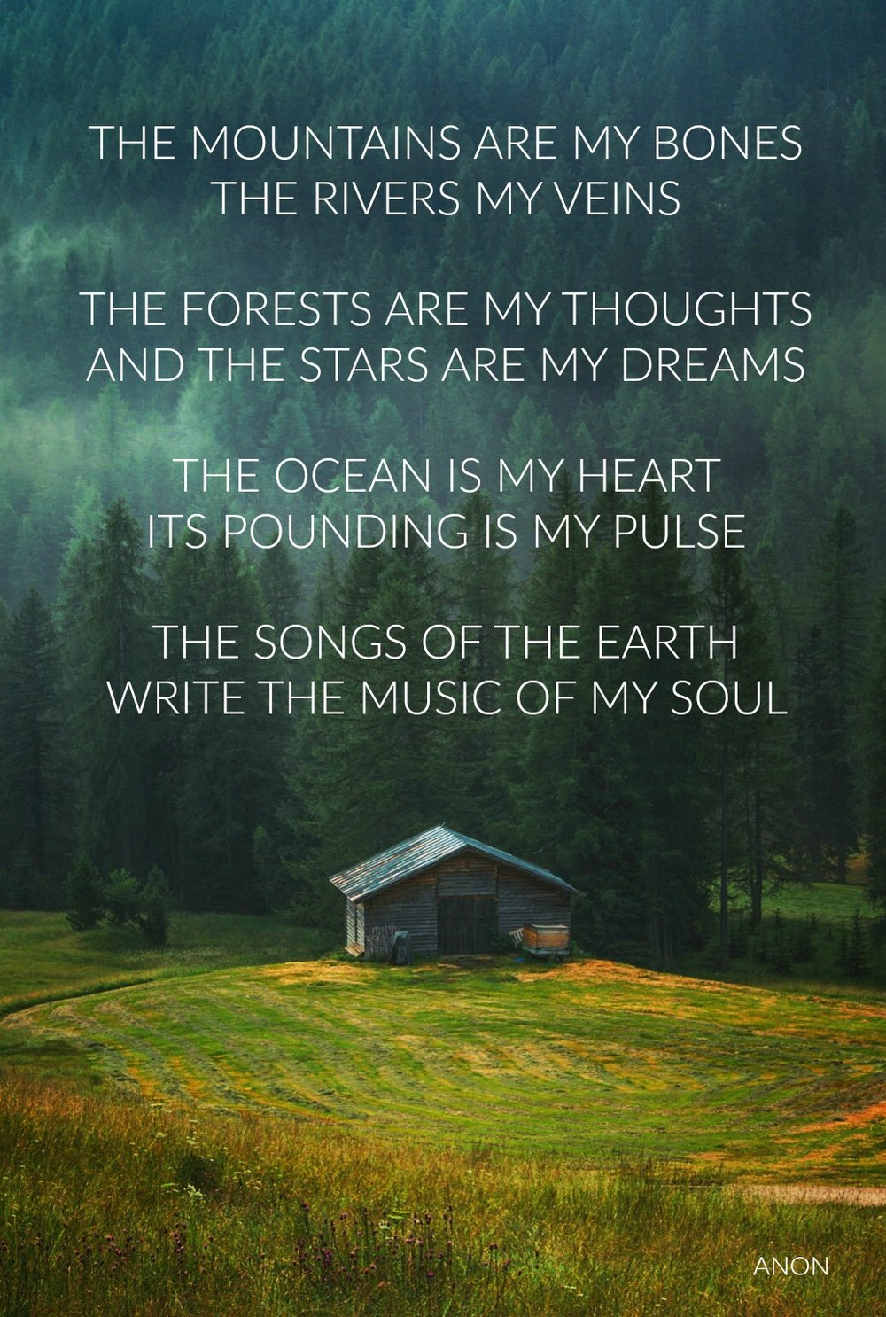 The Mountains Are My Bones. Circle of Daydreams. www.circleofdaydreams.com