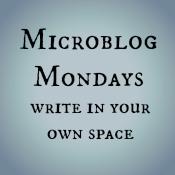 Microblog Mondays